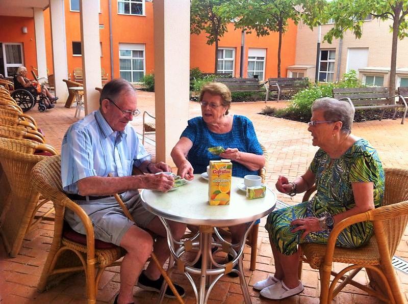 desayuno residencia tercera edad Solimar