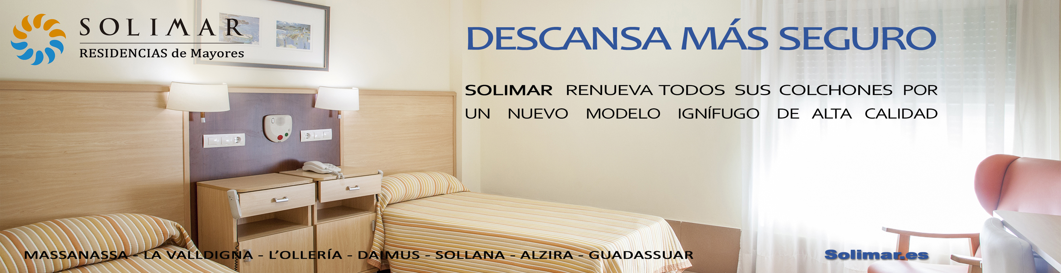 Las residencias Solimar aumentan su seguridad – Geroresidenciales