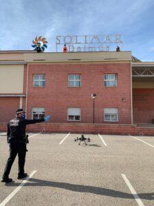 Dron Solimar Residencias de Mayores Daimus